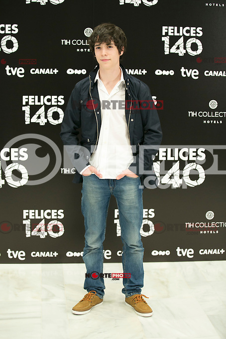 "attend the Presentation of ""Happy 140"" (Felices 140) Movie at Eurobuilding Hotel, Madrid,  Spain. April 07, 2015.(ALTERPHOTOS/)Carlos Dafonte) /NORTEphoto.com"