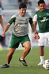 16 May 2015: New York assistant coach Alecko Eskandarian. The Carolina RailHawks hosted the New York Cosmos at WakeMed Stadium in Cary, North Carolina in a North American Soccer League 2015 Spring Season match. The game ended in a 2-2 tie.