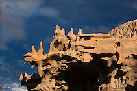 746000043 summer thunderstorm clouds form up over the hoodoos in fantasy canyon blm lands utah united states