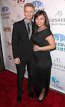 Anthony Fedorov & girlfriend attending the Broadway Dreams Foundation's 'Champagne & Caroling Gala' at Celsius at Bryant Park, New York on December 10, 2012