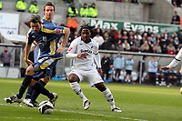 Pictured: Jason Scotland of Swansea City in action <br /> Re: Coca Cola Championship, Swansea City FC v Cardiff City at the Liberty Stadium. Swansea, south Wales, Sunday 30 November 2008.<br /> Picture by D Legakis Photography / Athena Picture Agency, Swansea 07815441513