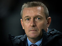 England U21 manager Aidy Boothroyd during the UEFA Euro U21 International qualifier match between England U21 and Austria U21 at Stadium MK, Milton Keynes, England on 15 October 2019. Photo by Andy Rowland.