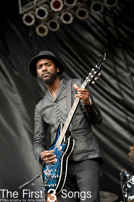 Gary Clark Jr. performs during the The Beale Street Music Festival in Memphis, Tennessee.