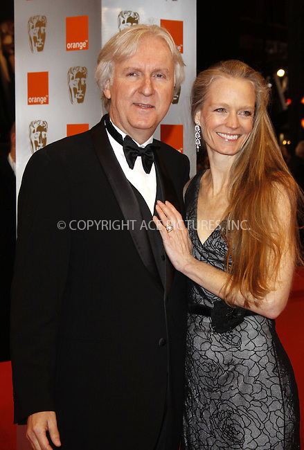 WWW.ACEPIXS.COM . . . . .  ..... . . . . US SALES ONLY . . . . .....February 21 2010, London....James Cameron and Susie Amis at the Orange British Academy Film Awards (BAFTA's) on February 21 2010 in London......Please byline: FAMOUS-ACE PICTURES... . . . .  ....Ace Pictures, Inc:  ..tel: (212) 243 8787 or (646) 769 0430..e-mail: info@acepixs.com..web: http://www.acepixs.com