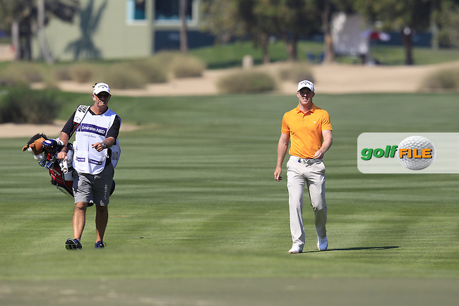 David HORSEY (ENG) at the 10th hole during Thursday's Round 1 of the 2015 Omega Dubai Desert Classic held at the Emirates Golf Club, Dubai, UAE.: Picture Eoin Clarke, www.golffile.ie: 1/29/2015