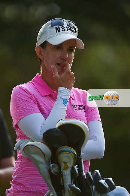 Karrie Webb (AUS) looks over her tee shot on 11 during round 2 of the 2019 US Women's Open, Charleston Country Club, Charleston, South Carolina,  USA. 5/31/2019.<br /> Picture: Golffile | Ken Murray<br /> <br /> All photo usage must carry mandatory copyright credit (© Golffile | Ken Murray)