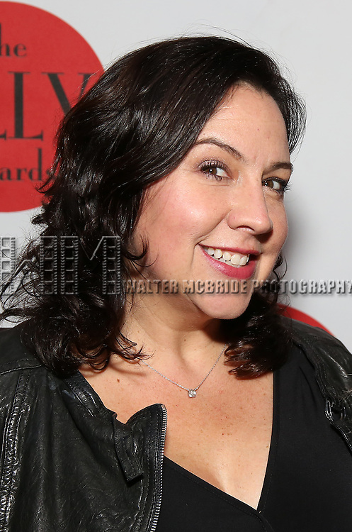 Kristen Anderson-Lopez  attends The Lilly Awards Broadway Cabaret at the Cutting Room on October 17, 2016 in New York City.