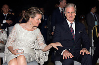 King Philippe & Queen Mathilde of Belgium - State Visit to India - Belgian Embassy - New Delhi