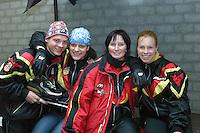 SCHAATSEN: HEERENVEEN: IJsstadion Thialf, 03-2003, VikingRace, Team Germany, ©foto Martin de Jong