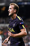 Harry Kane of Tottenham Hotspur FC celebrates after an own goal is made by Real Madrid during the UEFA Champions League 2017-18 match between Real Madrid and Tottenham Hotspur FC at Estadio Santiago Bernabeu on 17 October 2017 in Madrid, Spain. Photo by Diego Gonzalez / Power Sport Images