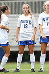 14 September 2014: Duke's Schuyler DeBree. The Duke University Blue Devils hosted the Louisiana State University Tigers at Koskinen Stadium in Durham, North Carolina in a 2014 NCAA Division I Women's Soccer match. Duke won the game 1-0.