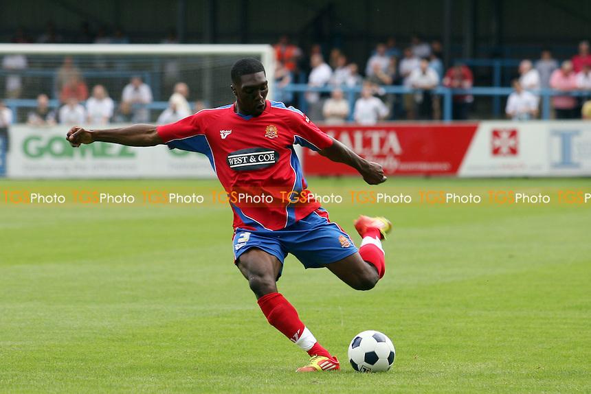 Oluwafemi Ilesanmi of Dagenham -  Dover Athletic vs Dagenham - 28/07/12 - MANDATORY CREDIT: Dave Simpson/TGSPHOTO - Self billing applies where appropriate - 0845 094 6026 - contact@tgsphoto.co.uk - NO UNPAID USE