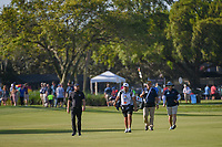 Tyrrell Hatton (ENG) leads the pack down 1 during round 3 of the Arnold Palmer Invitational at Bay Hill Golf Club, Bay Hill, Florida. 3/9/2019.<br /> Picture: Golffile | Ken Murray<br /> <br /> <br /> All photo usage must carry mandatory copyright credit (&copy; Golffile | Ken Murray)