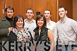 Fexco financial services IT dept held their christmas party in the Fels Point hotel Dan Spring Rd Tralee last Friday night(Front)L-R Marie Cahillane and Jil Fitzpatrick(back)L-R Peter Teahan,Alex O Donovan,Leo Ferreira and Pat herlihy..   Copyright Kerry's Eye 2008