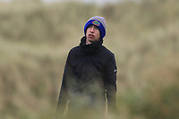 Tom McKibbin (Holywood) on the 13th tee during Round 2 of the Ulster Boys Championship at Portrush Golf Club, Portrush, Co. Antrim on the Valley course on Wednesday 31st Oct 2018.<br /> Picture:  Thos Caffrey / www.golffile.ie<br /> <br /> All photo usage must carry mandatory copyright credit (&copy; Golffile | Thos Caffrey)