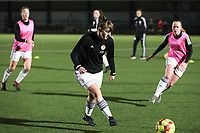 17.01.2020 OUD-HEVERLEE: OHL's Zenia Mertens in action during the warm up before the Belgian's Women's Super League match between Oud-Heverlee Leuven vs KAA Gent Ladies on Friday 17th January 2020, Stadion Oud-Heverlee, Oud-Heverlee, BELGIUM. PHOTO: SEVIL OKTEM SPORTPIX.BE