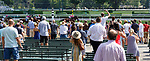 Scenes from around the Saratoga race course, Sep. 3, 2018 (Bruce Dudek/Eclipse Sportswire)