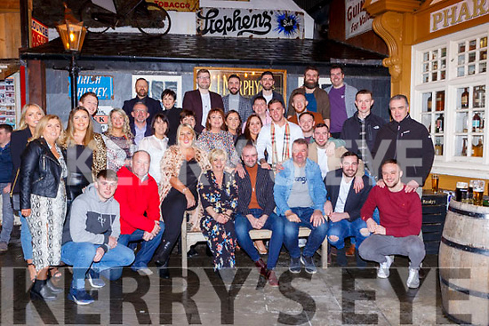 Jonathan Clarke Killarney celebrated his 30th birthday with his family and friends in Reidy's bar Killarney on Saturday night