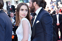 www.acepixs.com<br /> <br /> May 19 2017, Cannes<br /> <br /> Lily Collins arriving at the 'Okja' screening during the 70th annual Cannes Film Festival at Palais des Festivals on May 19, 2017 in Cannes, France. <br /> <br /> <br /> By Line: Famous/ACE Pictures<br /> <br /> <br /> ACE Pictures Inc<br /> Tel: 6467670430<br /> Email: info@acepixs.com<br /> www.acepixs.com