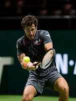 ABNAMRO World Tennis Tournament, 14 Februari, 2018, Rotterdam, The Netherlands, Ahoy, Tennis, Robin Haase (NED)<br /> <br /> Photo: www.tennisimages.com