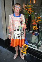 Grayson Perry at the Limonbello new Italian liquor launch party, The Club at The Ivy, West Street, London, England, UK, on Wednesday 20 July 2016.<br /> CAP/CAN<br /> &copy;CAN/Capital Pictures /MediaPunch ***NORTH AND SOUTH AMERICAS ONLY***