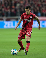 Football : Germany -1. Bundesliga  2017/18 <br /> Bayer Leverkusen 04 vs Mainz <br /> 28/01/2018 - Charles Aranguiz (Bayer 04 Leverkusen) *** Local Caption *** © pixathlon<br /> Contact: +49-40-22 63 02 60 , info@pixathlon.de