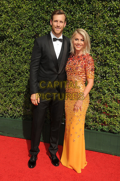 12 September 2015 - Los Angeles, California - Brooks Laich, Julianne Hough. 2015 Creative Arts Emmy Awards - Arrivals held at the Microsoft Theatre. <br /> CAP/ADM/BP<br /> &copy;BP/ADM/Capital Pictures