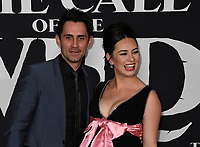 "13 February 2020 - Hollywood, California - Cara Gee and Husband Richard de Klerk. ""The Call of the Wild"" Twentieth Century Studios World Premiere held at El Capitan Theater. Photo Credit: Dave Safley/AdMedia"