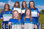 Students at St  Brigids Secondary School with their computer awards. .Rebecca Galvin, Sarah Brosnan Brid Kissane.Raisa O Leary, Gillian Murphy and Aimee Prendergast