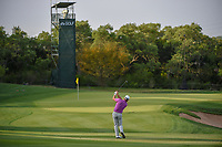 Graeme McDowell (NIR) hits his approach shot on 11 during day 2 of the Valero Texas Open, at the TPC San Antonio Oaks Course, San Antonio, Texas, USA. 4/5/2019.<br /> Picture: Golffile | Ken Murray<br /> <br /> <br /> All photo usage must carry mandatory copyright credit (© Golffile | Ken Murray)