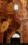 Merklin Organ Loft Stucco Angels Antoine Derizet San Luigi dei Francesi Rome