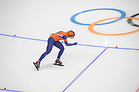 OLYMPIC GAMES: PYEONGCHANG: 10-02-2018, Gangneung Oval, Long Track, 3000m Ladies, Antoinette de Jong (NED), ©photo Martin de Jong