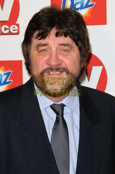 Steve Halliwell.TV Choice Awards 2011 Arrivals held at the Savoy Hotel, London, England..September 13th, 2011.headshot portrait black blue shirt grey gray tie beard facial hair .CAP/CJ.©Chris Joseph/Capital Pictures.
