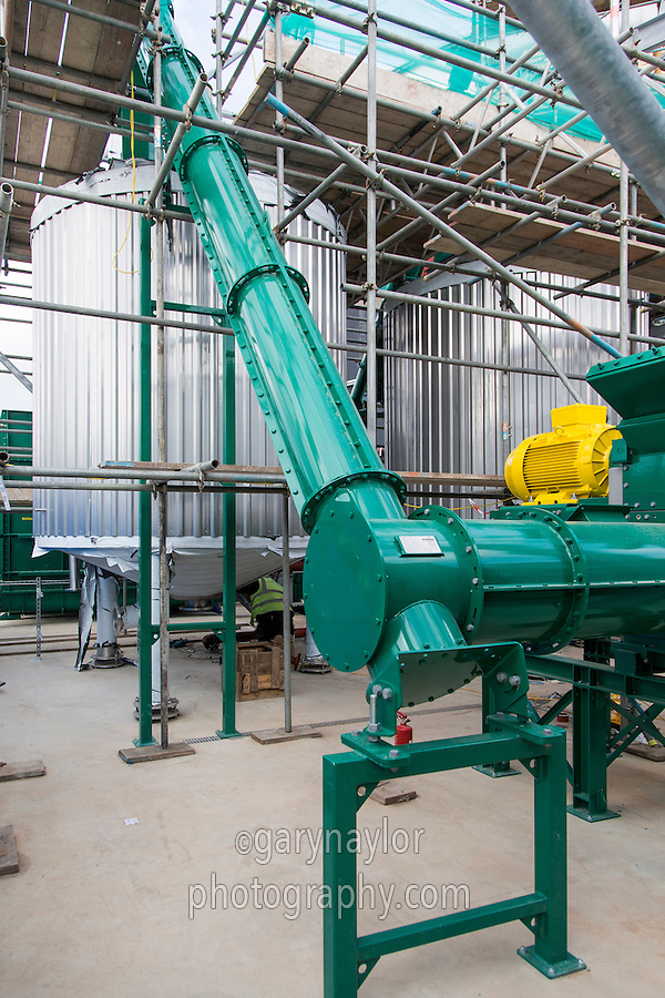 Construction of feedhouse & hammer mill