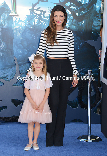 Ali Landry, Estela Ines Monteverde  at the Maleficent Premiere at the El Capitan Theatre in Los Angeles.