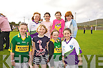 Competing at the Community games in Cahersiveen on Thursday last were front l-r; Rachel Devane, Sadbh O'Shea, Catherine O'Connell, Ciara Devlin, back l-r; Sarah Landers, Kelsey McCarthy, Shauna Daly & Gra?ine Murphy.