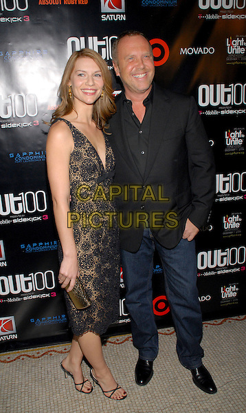 """CLAIRE DANES & MICHAEL KORS.""""Out""""Magazine honors 100 most influential people in gay culture during """"Out 100 Awards"""" at Capitale, New York, NY, USA, 10 November 2006..full length clare.Ref: ADM/PH.www.capitalpictures.com.sales@capitalpictures.com.©Paul Hawthorne/AdMedia/Capital Pictures. *** Local Caption ***"""