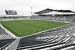 6 April 2007: View from the southwest concourse of the stadium. The stadium at Dick's Sporting Goods Park in Denver, Colorado is ready for the season opener between DC United and the Colorado Rapids to be played Saturday, April 7.