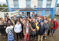 A group at  at the launch of the 18th  annual F&eacute;ile na Bealtaine festival in Annascaul Co. Kerry on Thursday. Included are Ruth Fanning,  Peter Fanning,  Feile na Bealtaine , Mike O'Shea, Explorer and Adventurer, Enda O'Brien (grandson of Tom Crean) ,Micheal &Oacute; Coile&aacute;in,  Kerry County Council and  Declan Murphy, Failte Ireland. <br /> Picture: Eamonn Keogh (MacMonagle, Killarney)  PR PIC No Repro