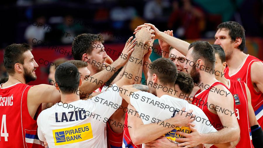 European basketball championship, Evropsko prvenstvo u kosarci Eurobasket 15.9.2017. Istanbul, Turska, 14. Septembar 2017. Srbija - Rusija, Serbia - Russia (credit image & photo: Pedja Milosavljevic / STARSPORT)