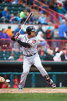 Richmond Flying Squirrels designated hitter Mac Williamson (7) at bat during a game against the Erie Seawolves on May 20, 2015 at Jerry Uht Park in Erie, Pennsylvania.  Erie defeated Richmond 5-2.  (Mike Janes/Four Seam Images)