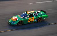 May 2, 2008; Richmond, VA, USA; NASCAR Nationwide Series driver Morgan Shepherd during the Lipton Tea 250 at the Richmond International Raceway. Mandatory Credit: Mark J. Rebilas-