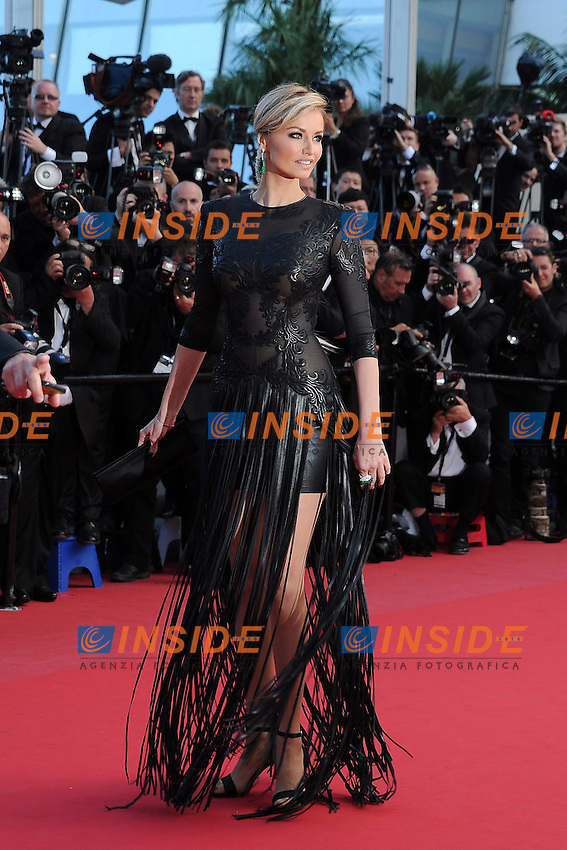 Adriana Karembeu .Cannes 21/5/2013 .66mo Festival del Cinema di Cannes 2013 .Foto Panoramic / Insidefoto .ITALY ONLY