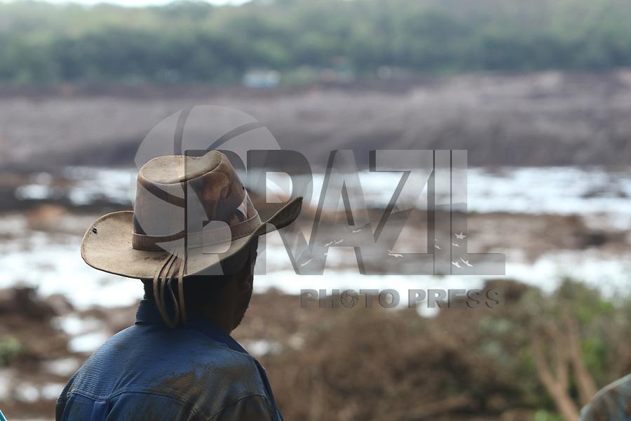 BELO HORIZONTE, MG, 25.01.2019 - BARRAGEM-MG - Rompimento da Barragem Corego do Feijão, no município de Brumadinho, região metropolitana de Belo Horizonte, nesta sexta-feira, 25. (Foto: Doug Patricio/Brazil Photo Press)