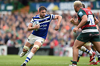Elliott Stooke of Bath Rugby in possession. Gallagher Premiership match, between Leicester Tigers and Bath Rugby on May 18, 2019 at Welford Road in Leicester, England. Photo by: Patrick Khachfe / Onside Images
