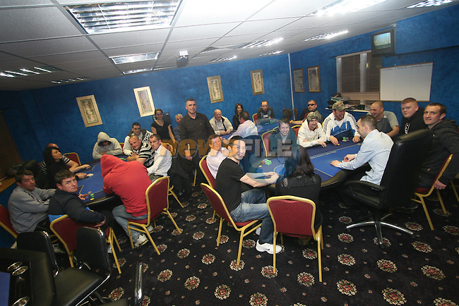 Riverside Casino Poker Tournament...Photo NEWSFILE/Jenny Matthews.(Photo credit should read Jenny Matthews/NEWSFILE)....This Picture has been sent you under the condtions enclosed by:.Newsfile Ltd..The Studio,.Millmount Abbey,.Drogheda,.Co Meath..Ireland..Tel: +353(0)41-9871240.Fax: +353(0)41-9871260.GSM: +353(0)86-2500958.email: pictures@newsfile.ie.www.newsfile.ie.FTP: 193.120.102.198.