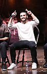 "Giuseppe Bausilio during the eduHAM Q & A before The Rockefeller Foundation and The Gilder Lehrman Institute of American History sponsored High School student #EduHam matinee performance of ""Hamilton"" at the Richard Rodgers Theatre on November 20, 2019 in New York City."
