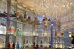 chandelier bar in cosmopolitan Las Vegas