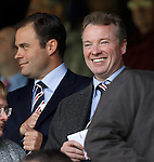 Craig Whyte and Ali Russell