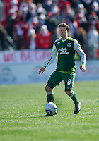 26 March 2011: Portland Timbers midfielder Peter Lowry #8 in action during an MLS game between the Portland Timbers and the Toronto FC at BMO Field in Toronto, Ontario Canada..Toronto FC won 2-0....